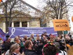 Arrivée au Sénat de la Marche de Rosen Hicher 12 octobre 2014