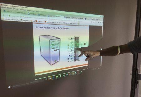 rétroprojecteur informatique