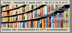 soirée du 3 mars : bibliothèque