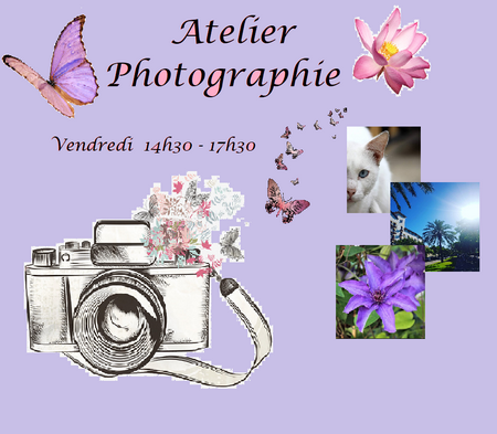 affiche atelier photo