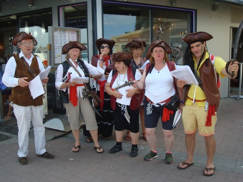 le treport les pirates