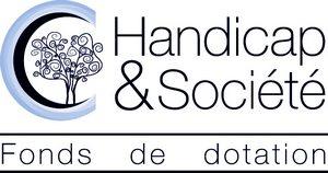 logo de la fondation Handicap et société