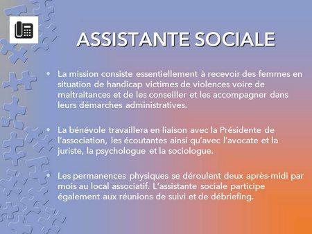 fiche assistante sociale
