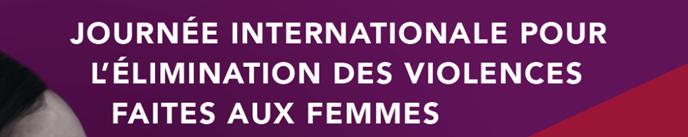 Journée internationale de lutte contre les violences