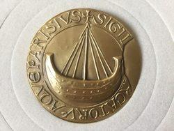 sceau de la ville de paris : navire