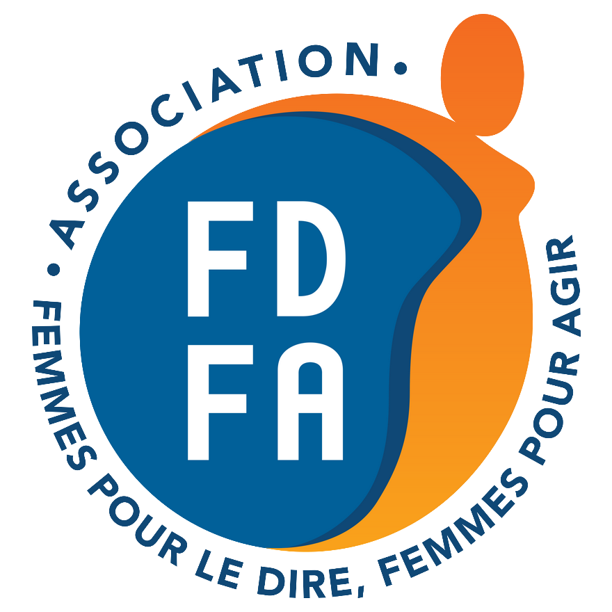 logo bleu et orange de FDFA